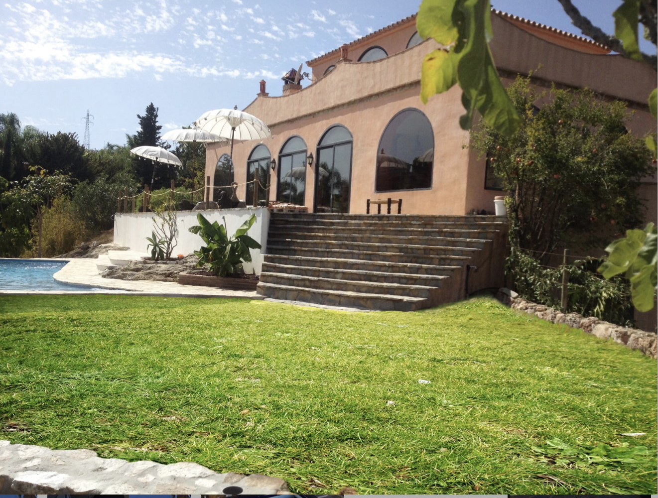Unique property on a 5000 m2 plot in Benalmádena